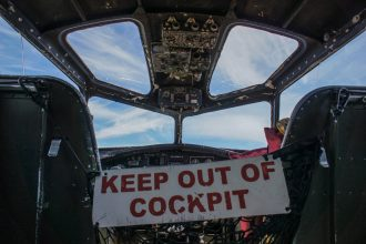 Inside Collings Foundation B-17 Flying Fortress