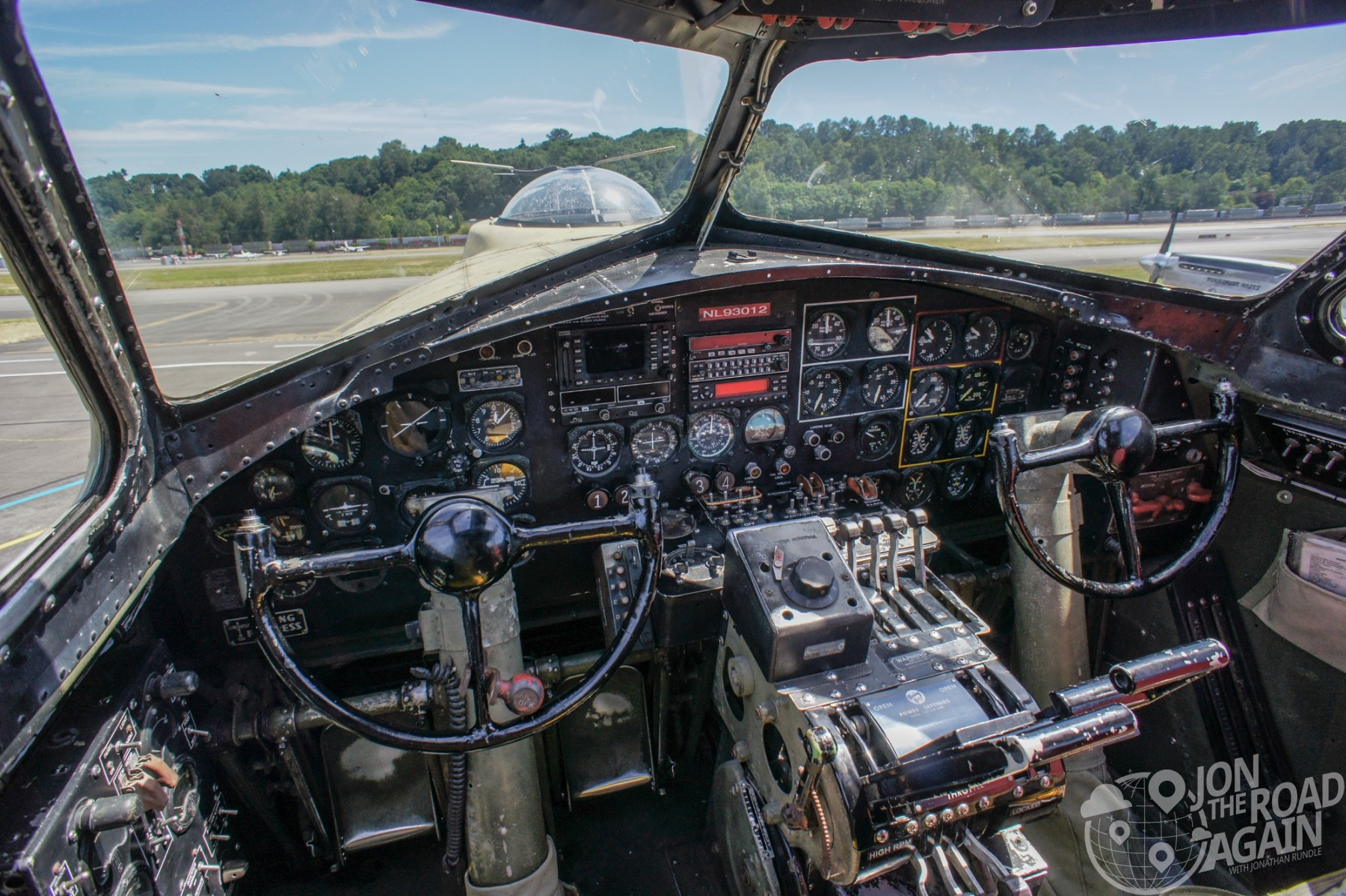 Collings Foundation B-17 Flying Fortress Cockpit