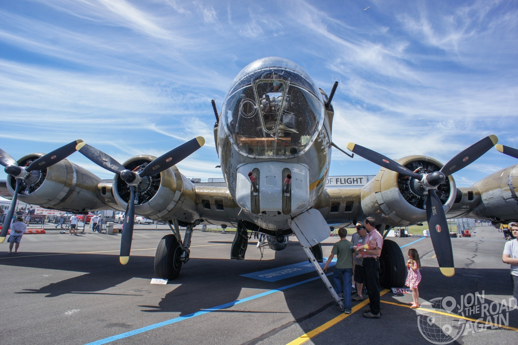 B-17 Flying Fortress Nine o Nine
