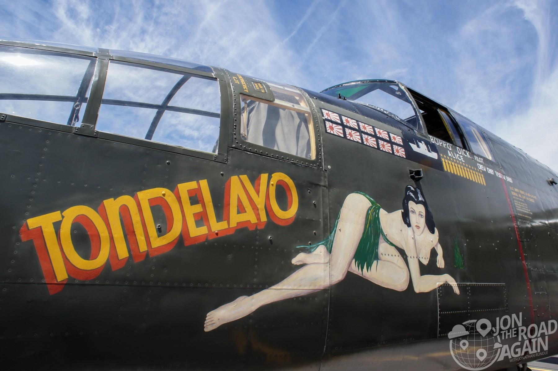 "B-25 Mitchell ""Tondelayo"""