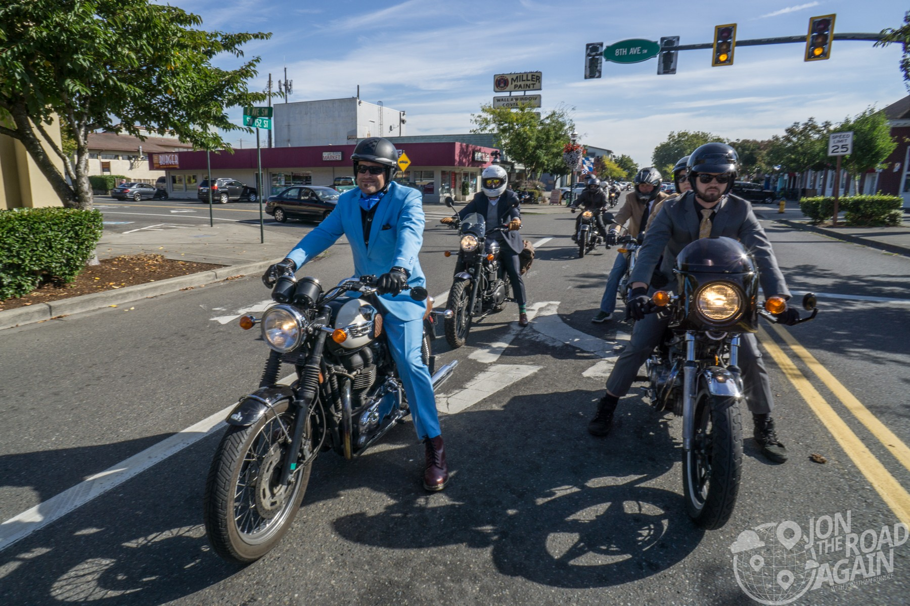 Distinguished Gentleman's Ride Seattle