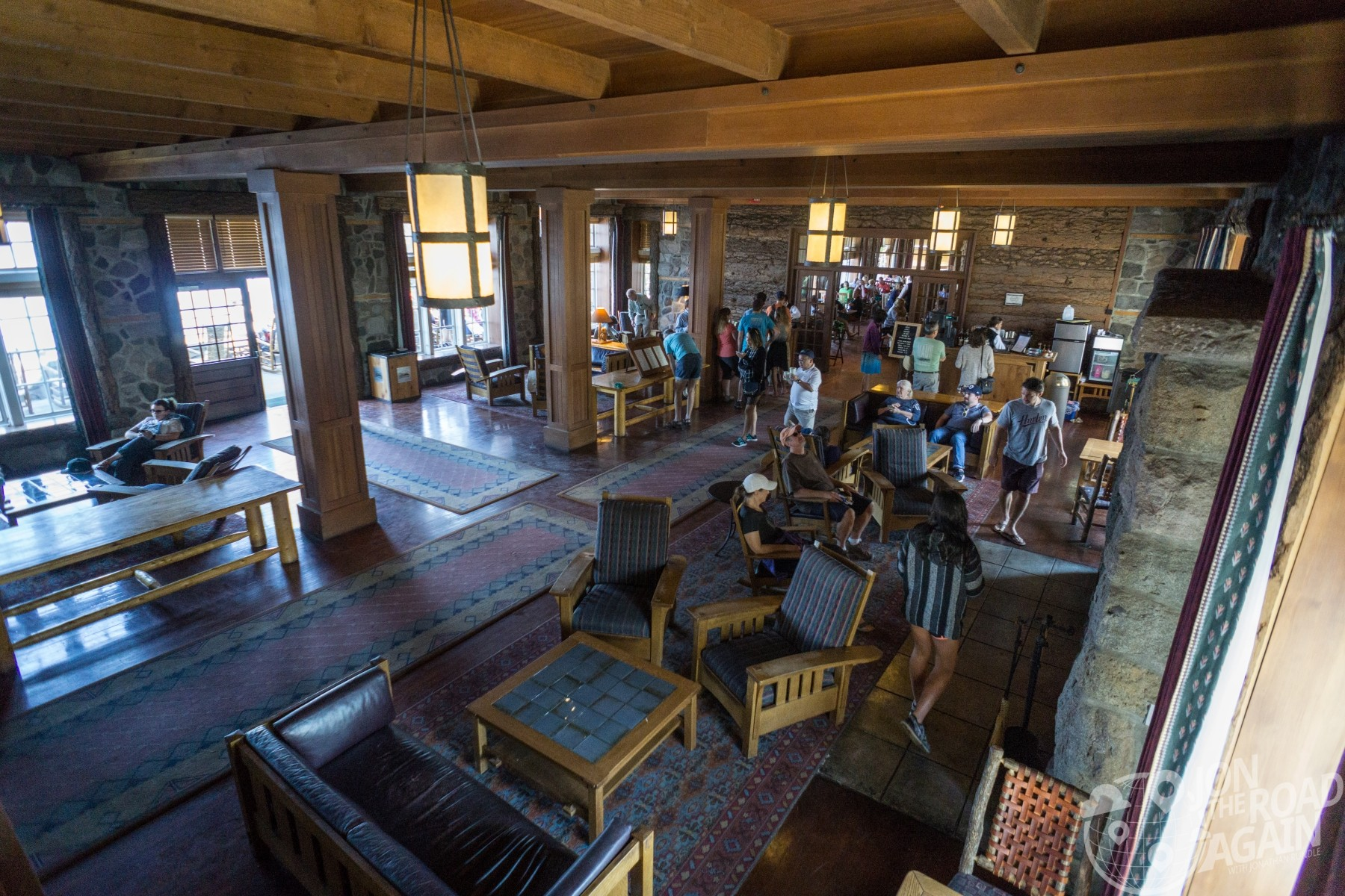 Crate Lake Lodge interior