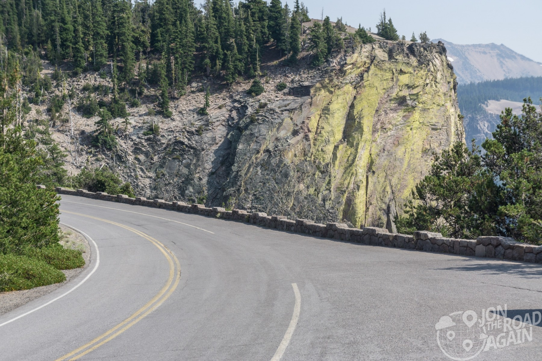 Crater Lake Rim Road