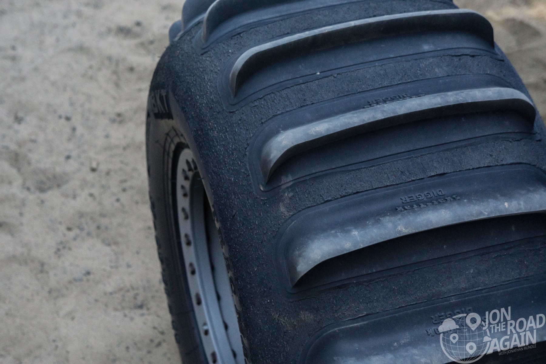 sand tire at oregon dunes national recreation area