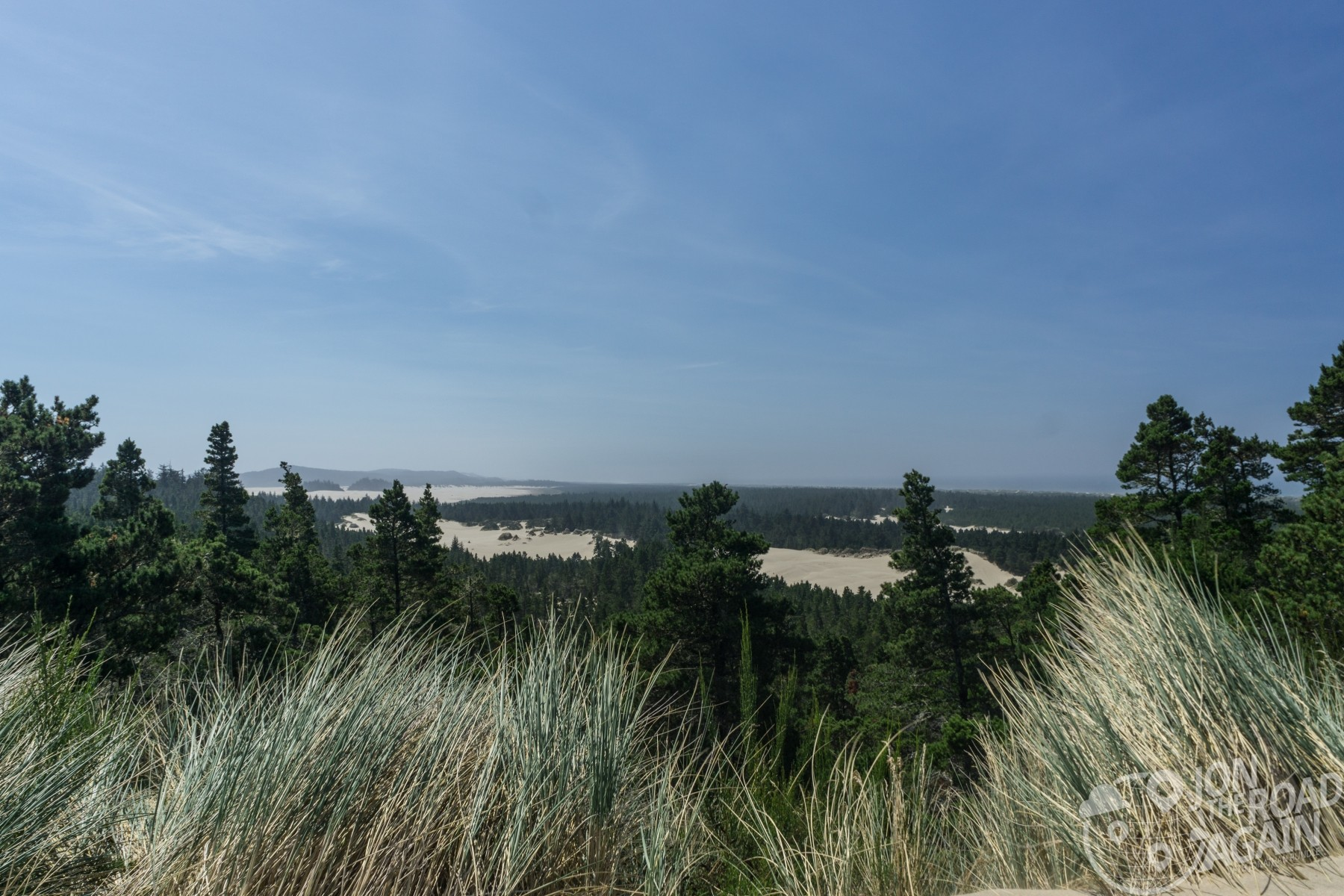 view of oregon dunes national recreation area