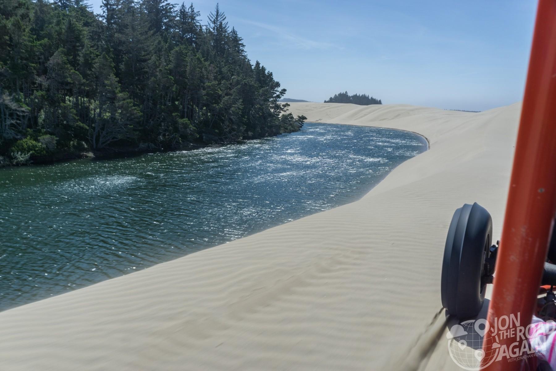 oregon dunes lake