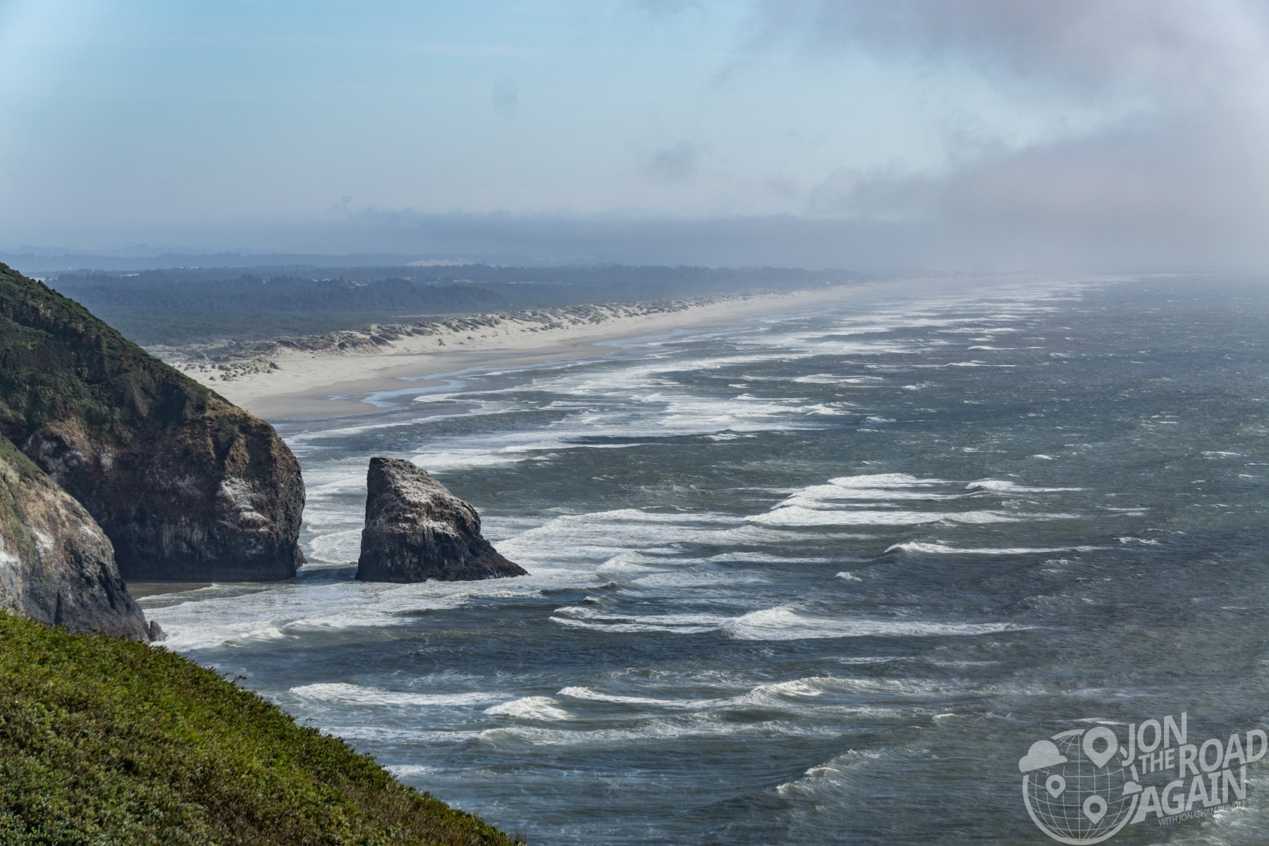 Oregon coastline / Oregon Dunes coastline