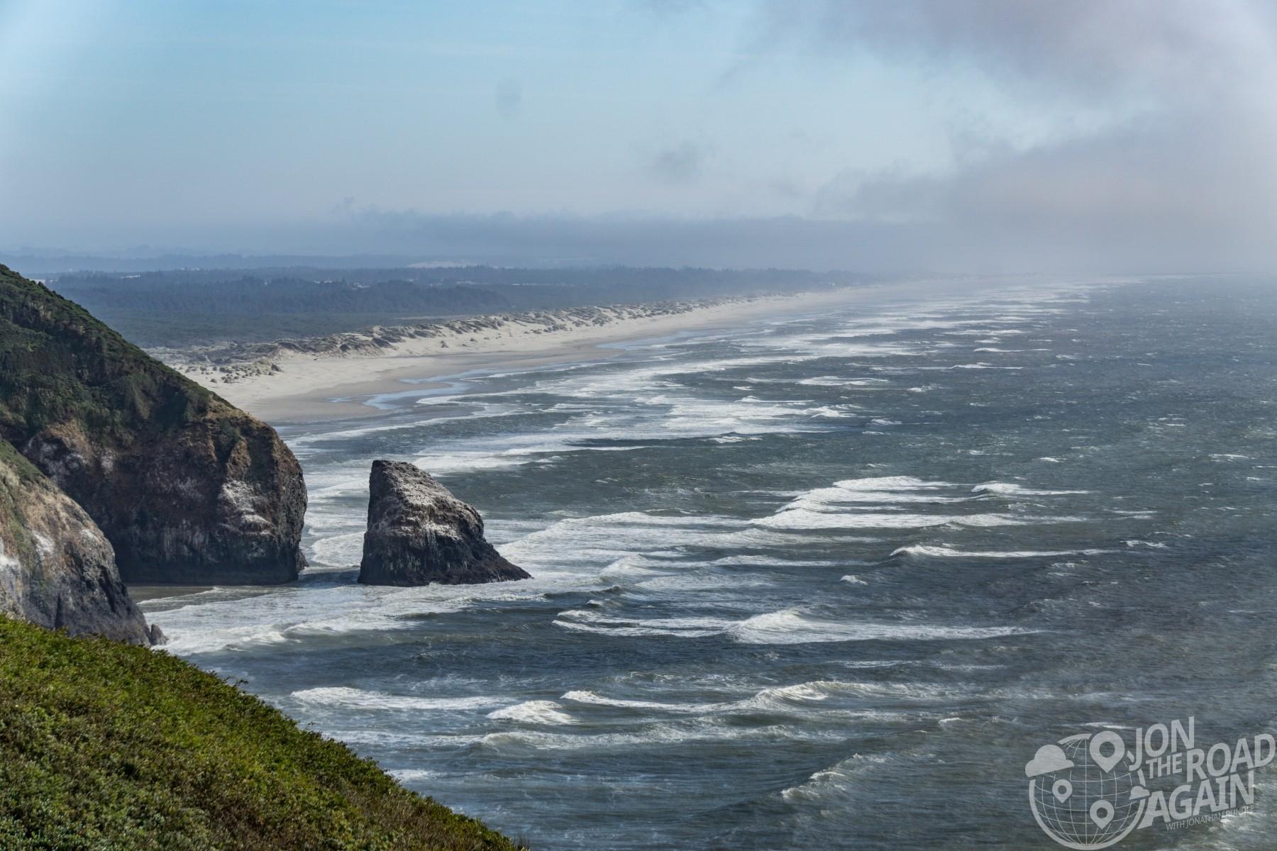 Oregon coastline / Oregon Dunes coastline