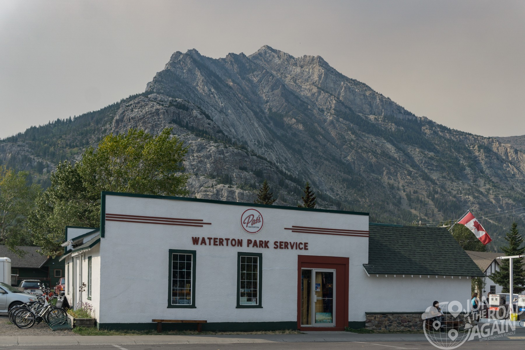 Pat's Gas Waterton Lakes