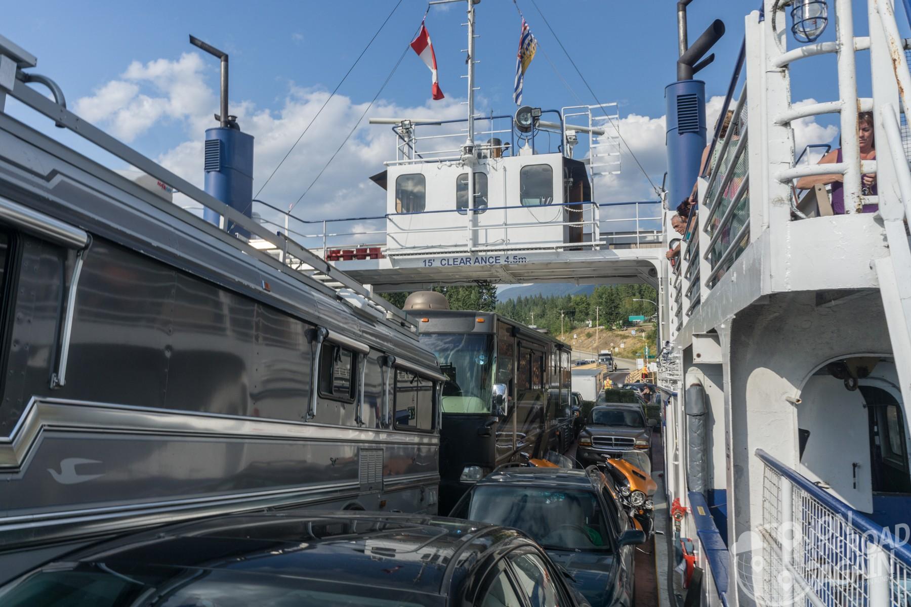 Kootenay Bay / Kootenay Lake Ferry to Balfour