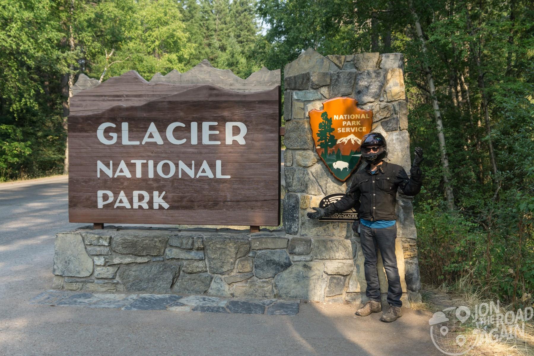 Motorcycling Glacier National Park