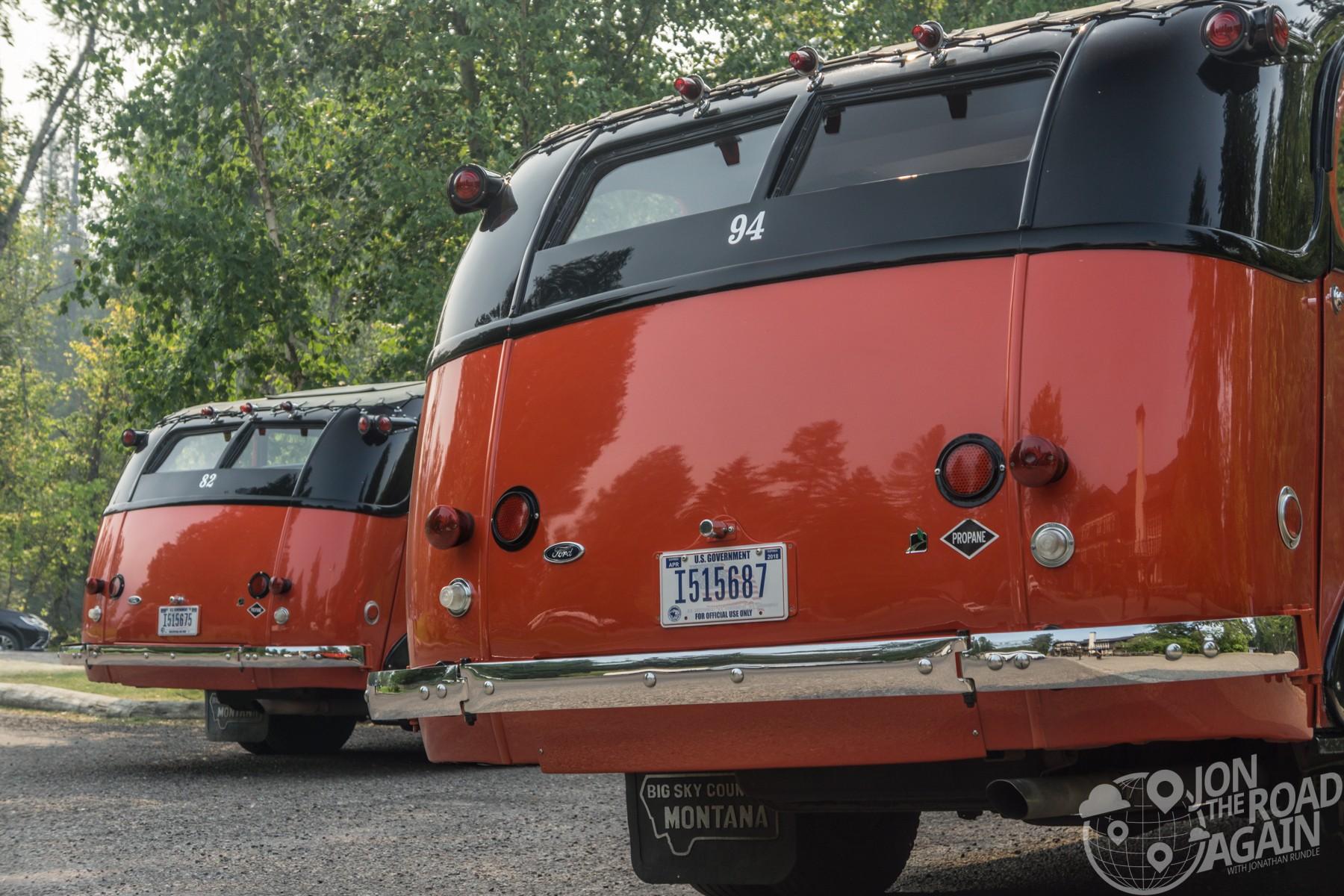 Glacier National Park Red Bus
