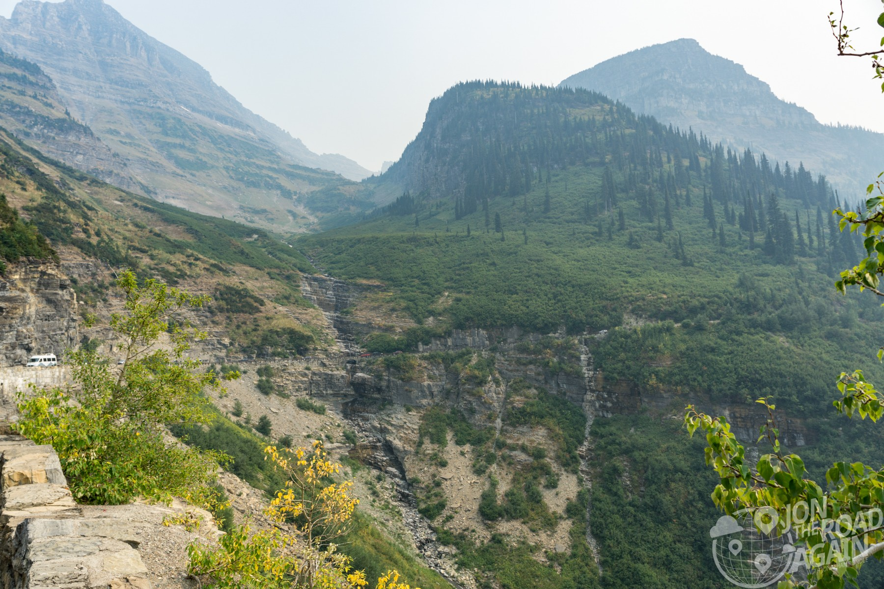 Bird Woman Falls Glacier National Park