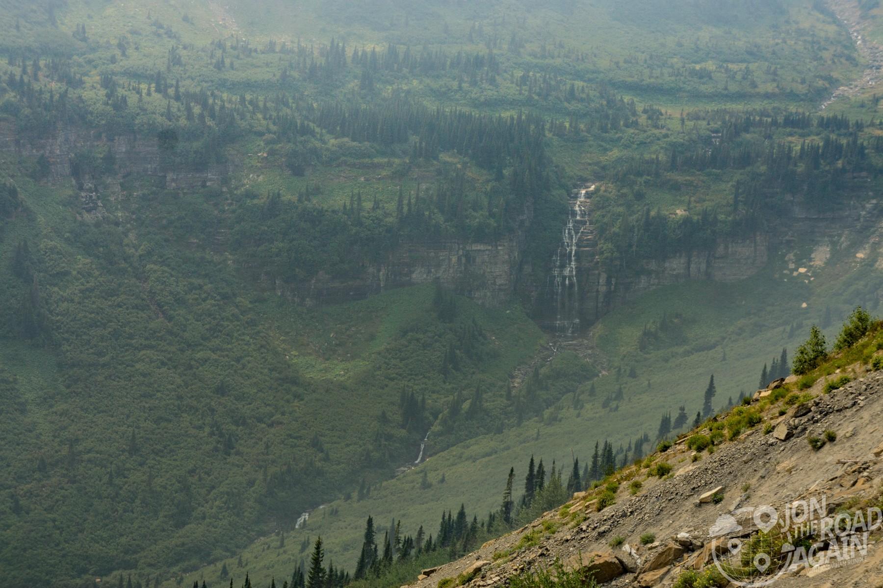 Florence Falls Glacier National Park