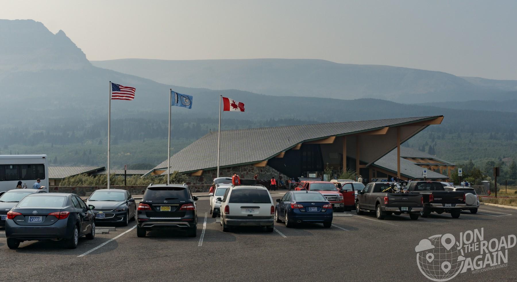 St. Mary Visitor Center Glacier National PArk