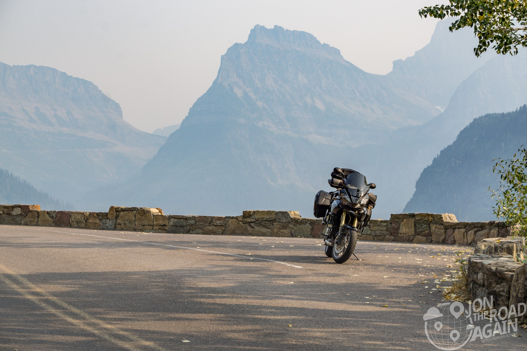 Motorcycling Going to the Sun Road