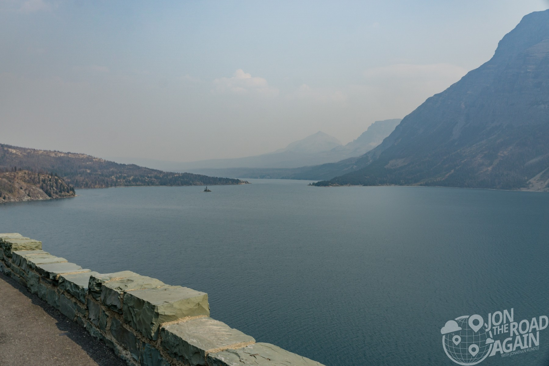 St. Mary Lake Overlook Glacier National Park