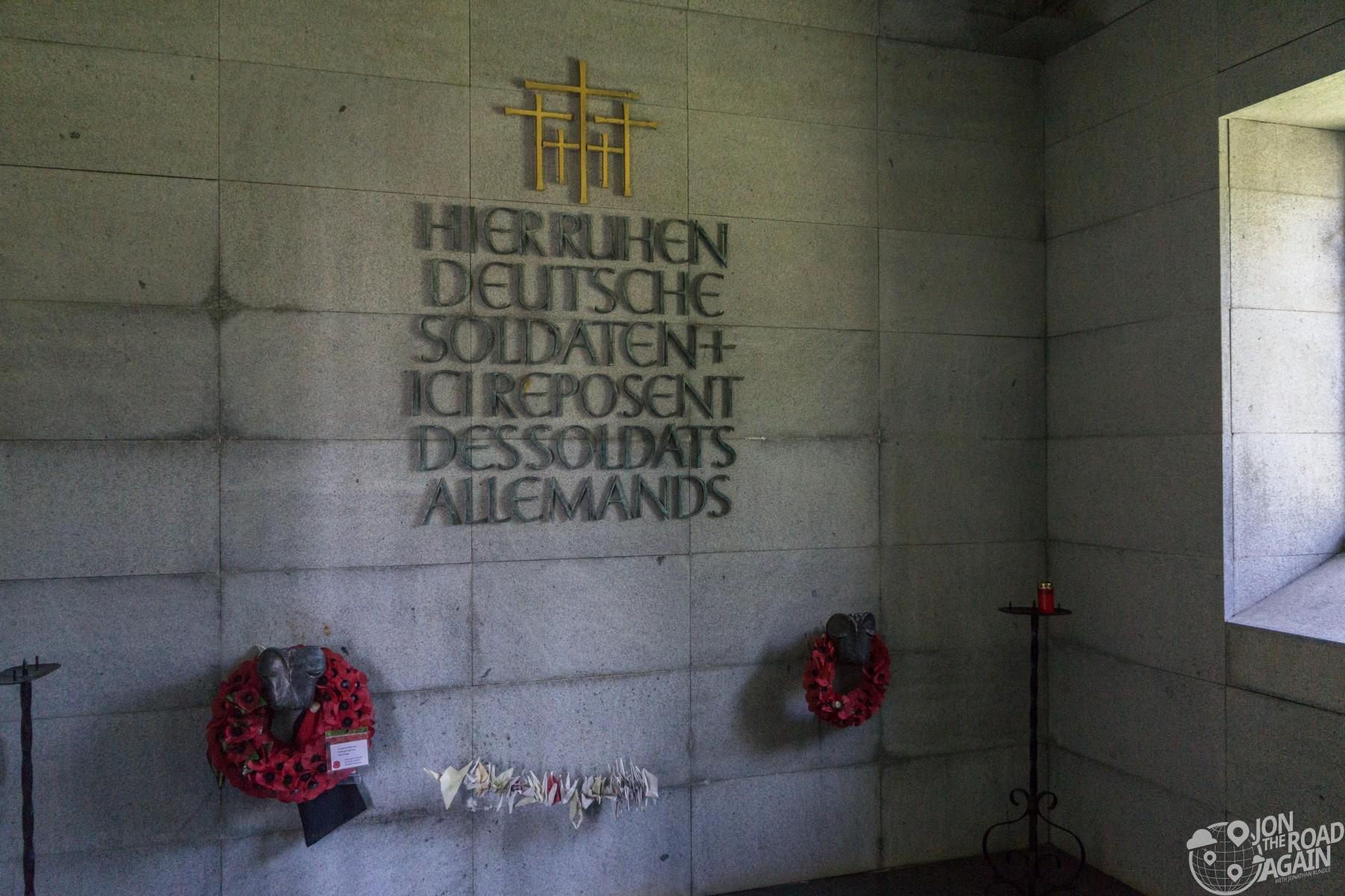Normandy German Cemetery