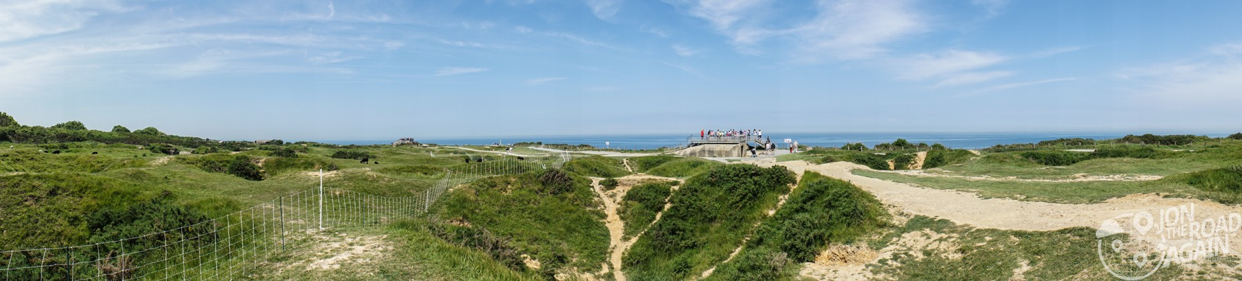 Pointe du Hoc panorama