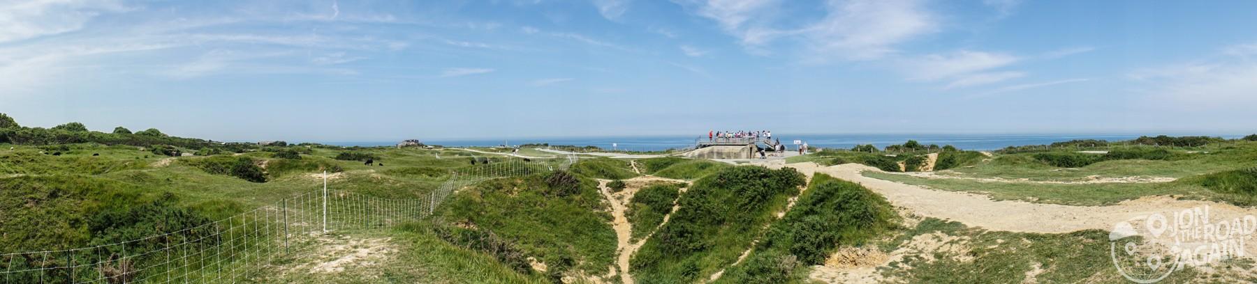Pointe du Hoc panorama