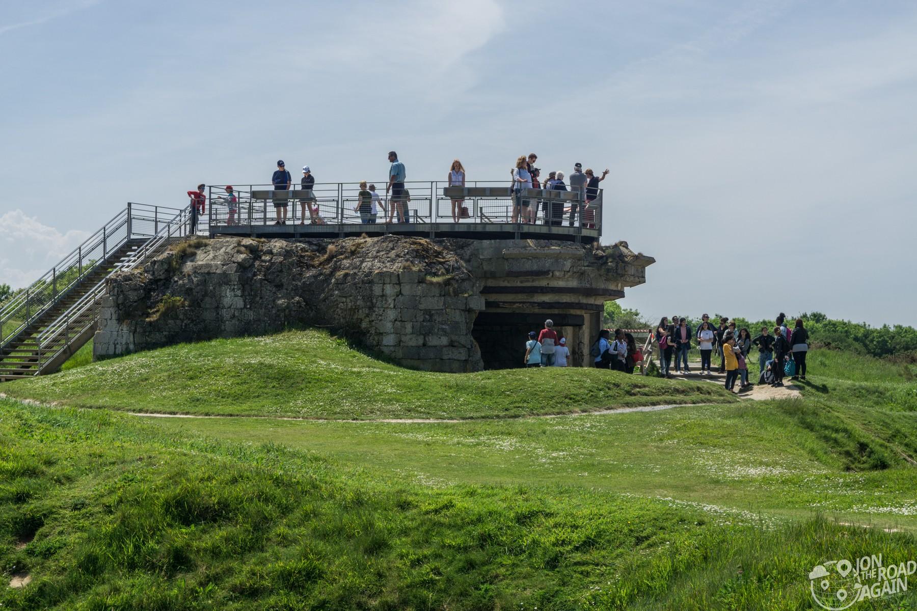 Pointe du Hoc gun nest