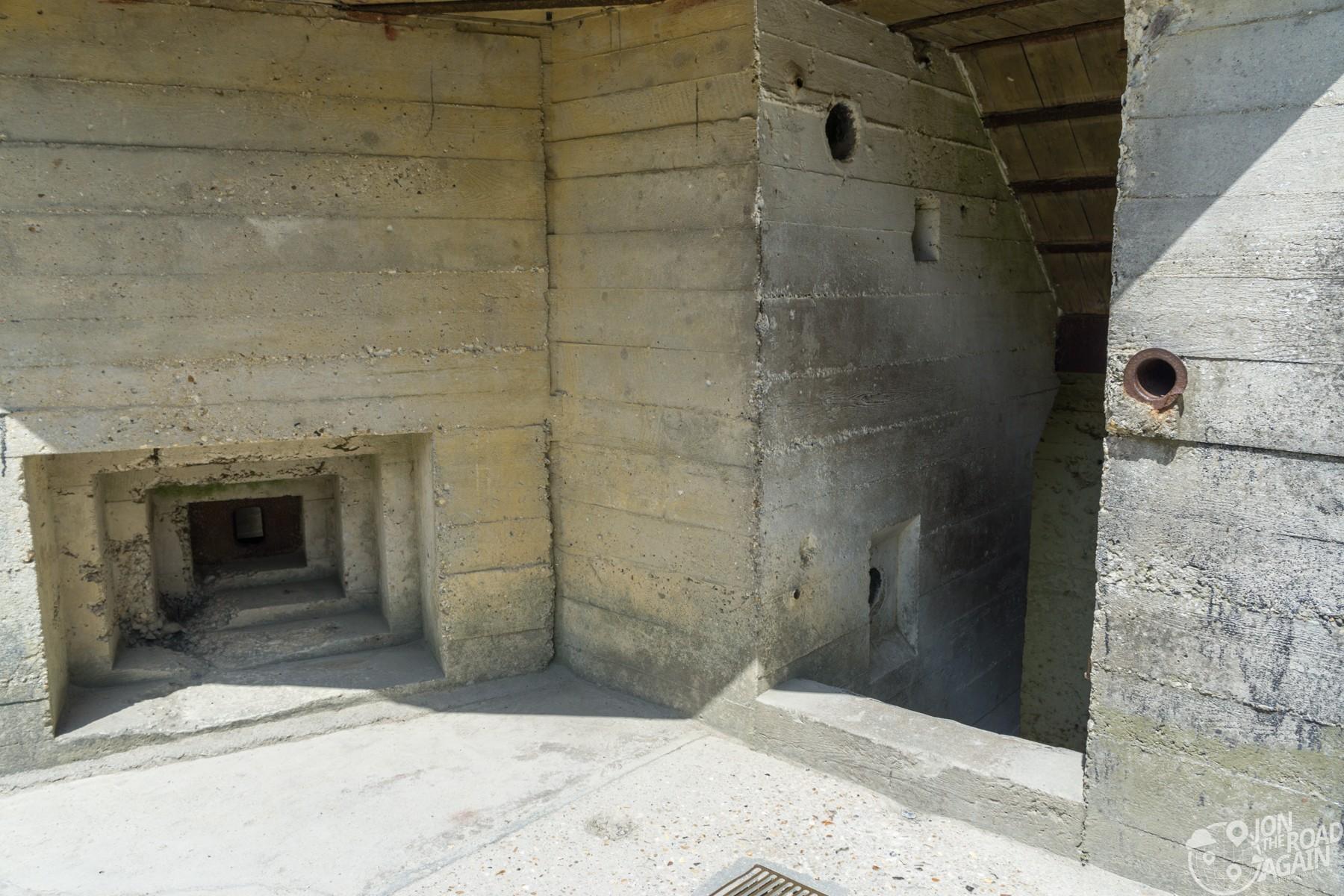 Pointe du Hoc observation bunker