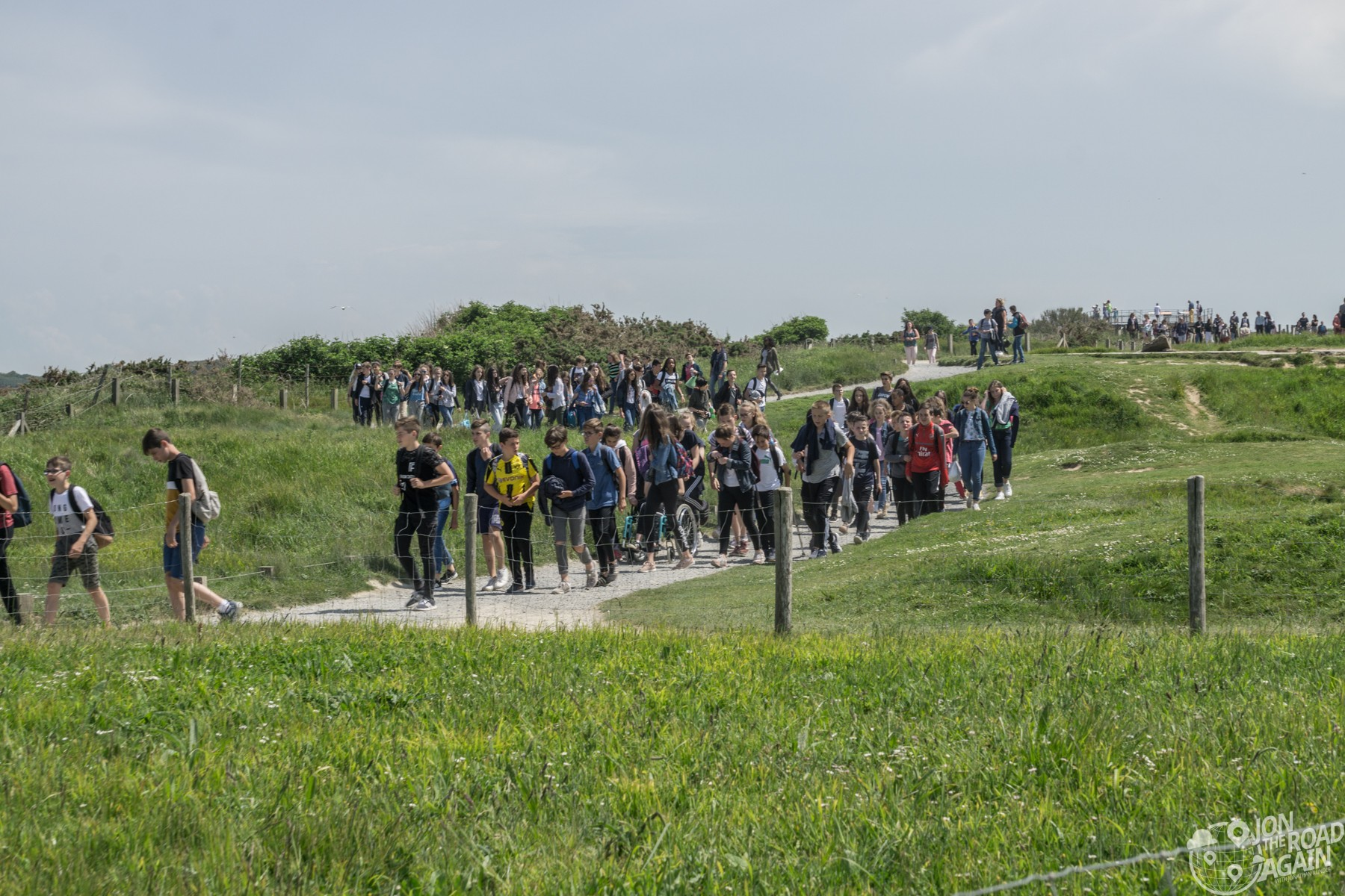 school trip to pointe du hoc
