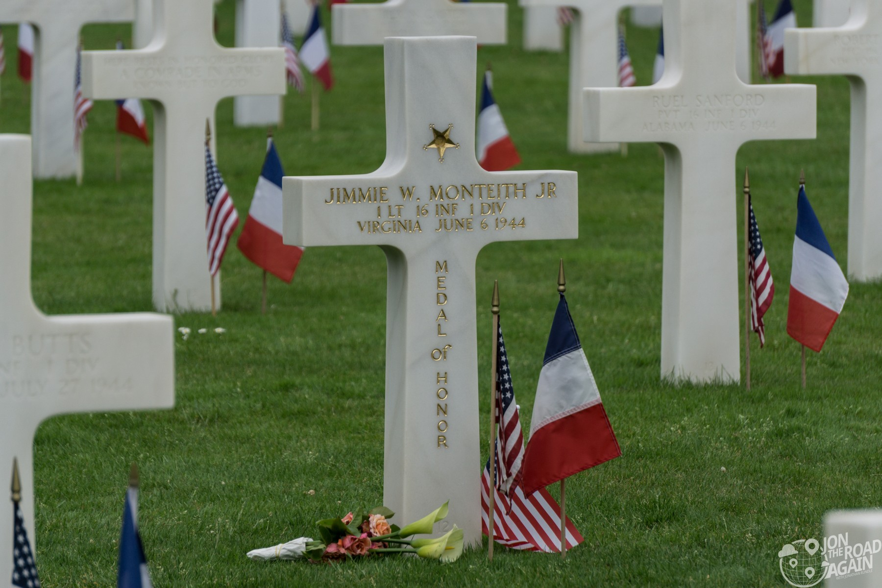 Normany American Cemetery Medal of Honor