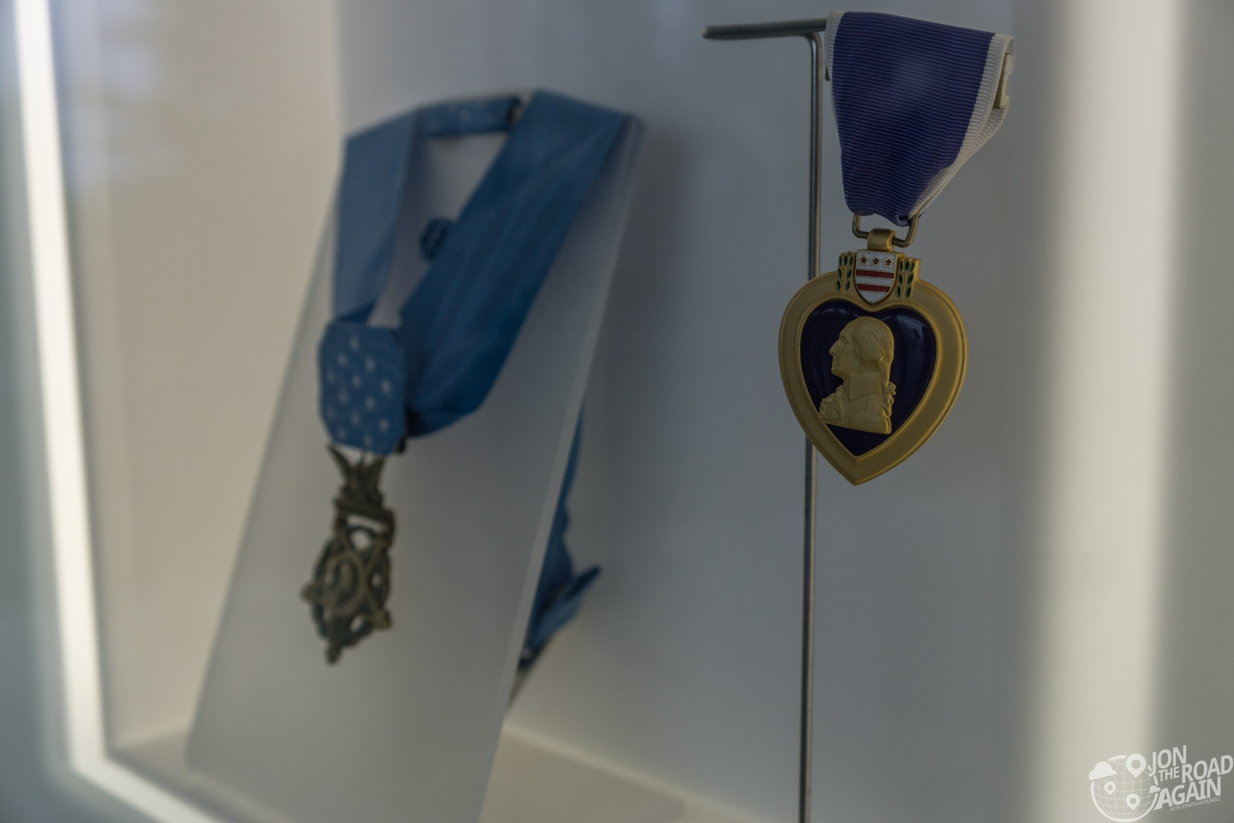 Monteith Medal of Honor and Purple Heart