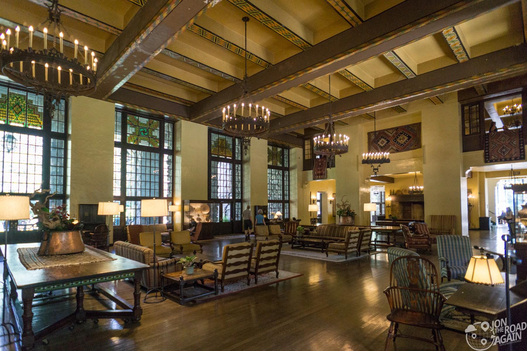 Majestic Yosemite Hotel Lobby