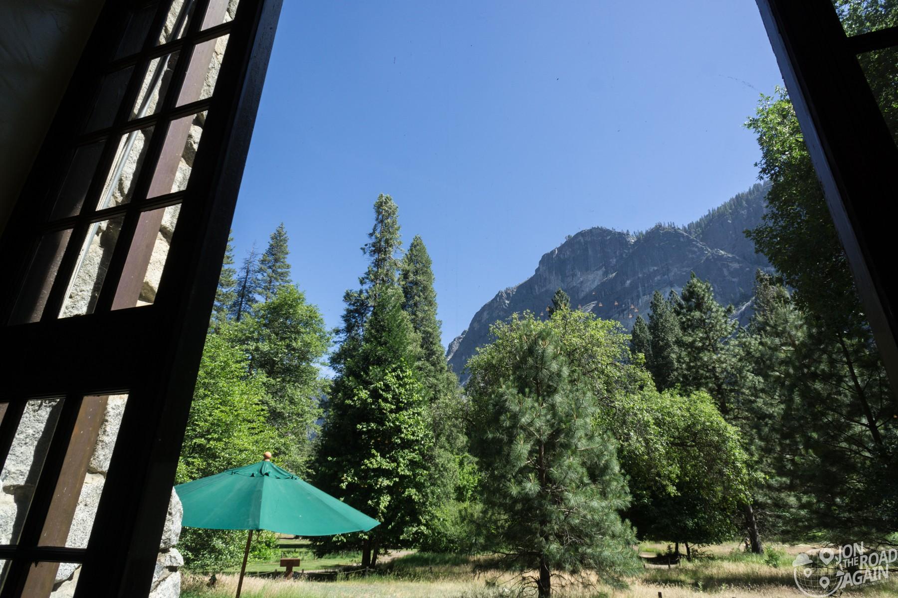 Majestic Yosemite Hotel View