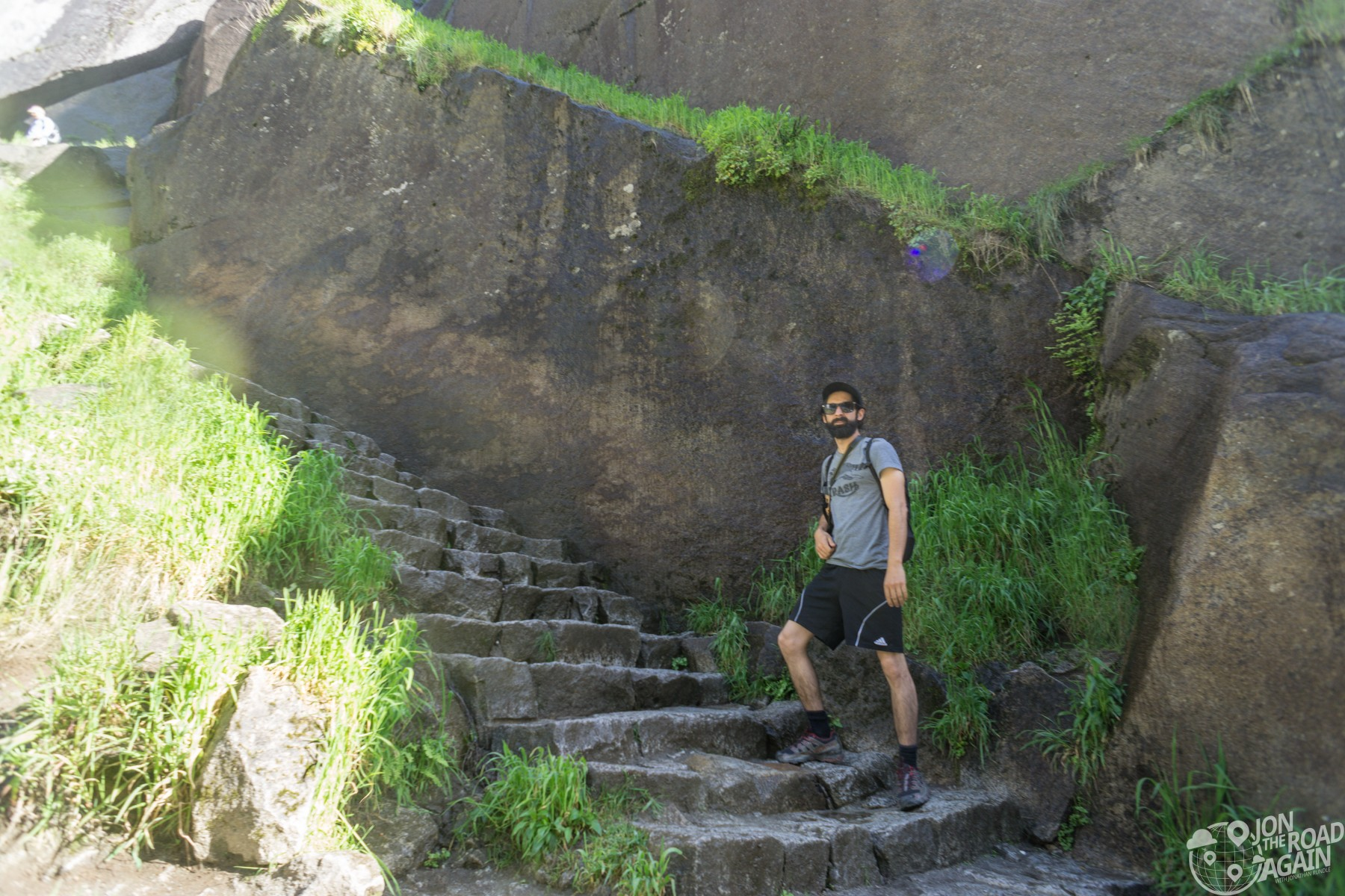 Mist Trail steps