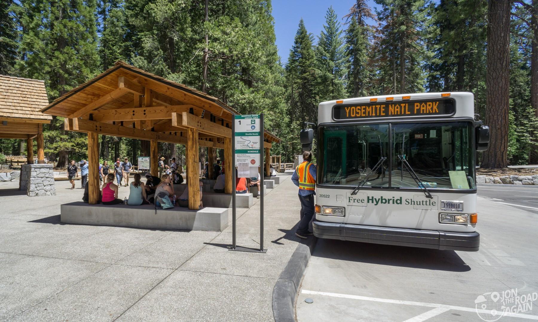 Mariposa Grove Shuttle Bus