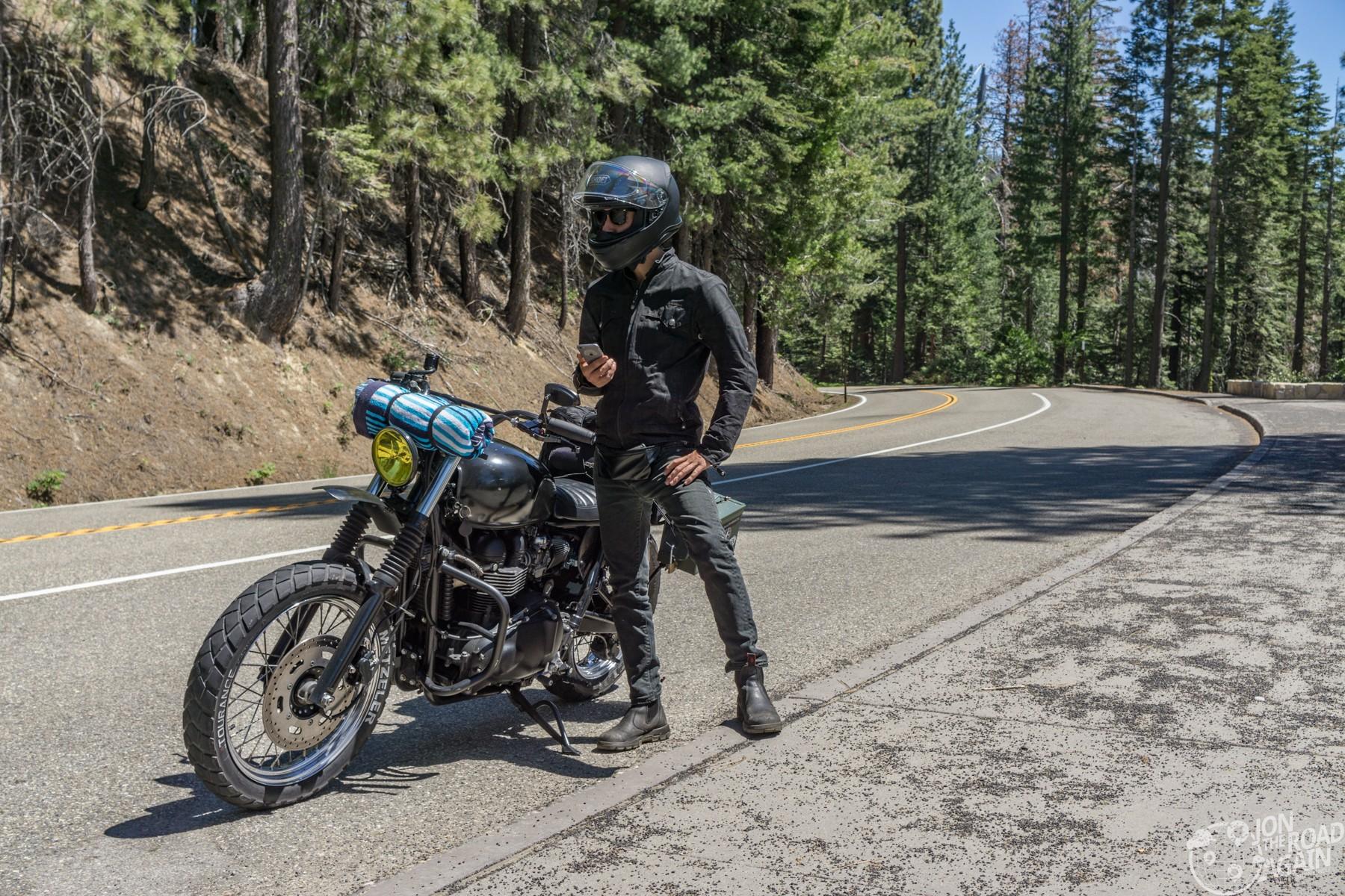 Motorcycling Yosemite National Park