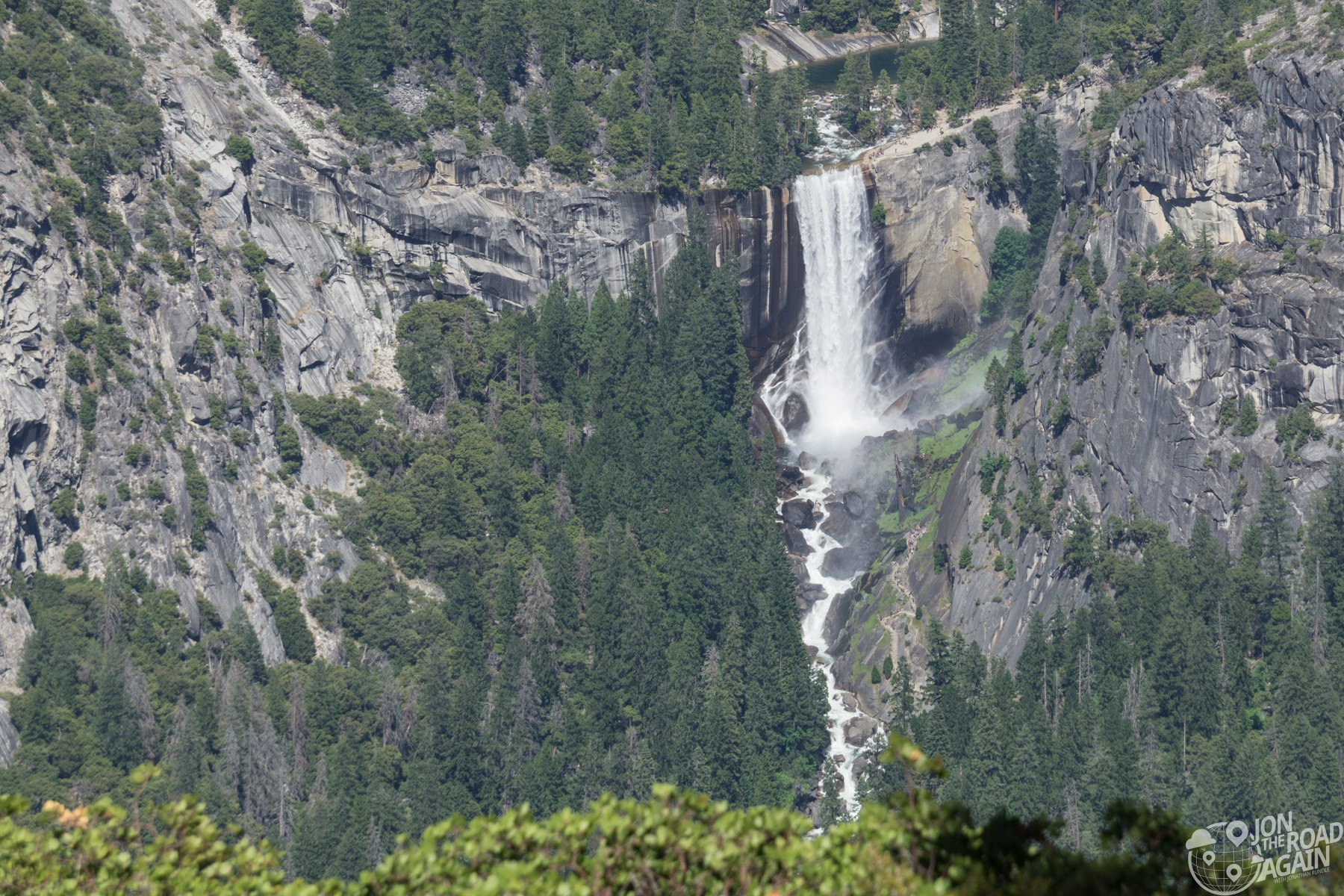Vernal Fall from Glacier Point