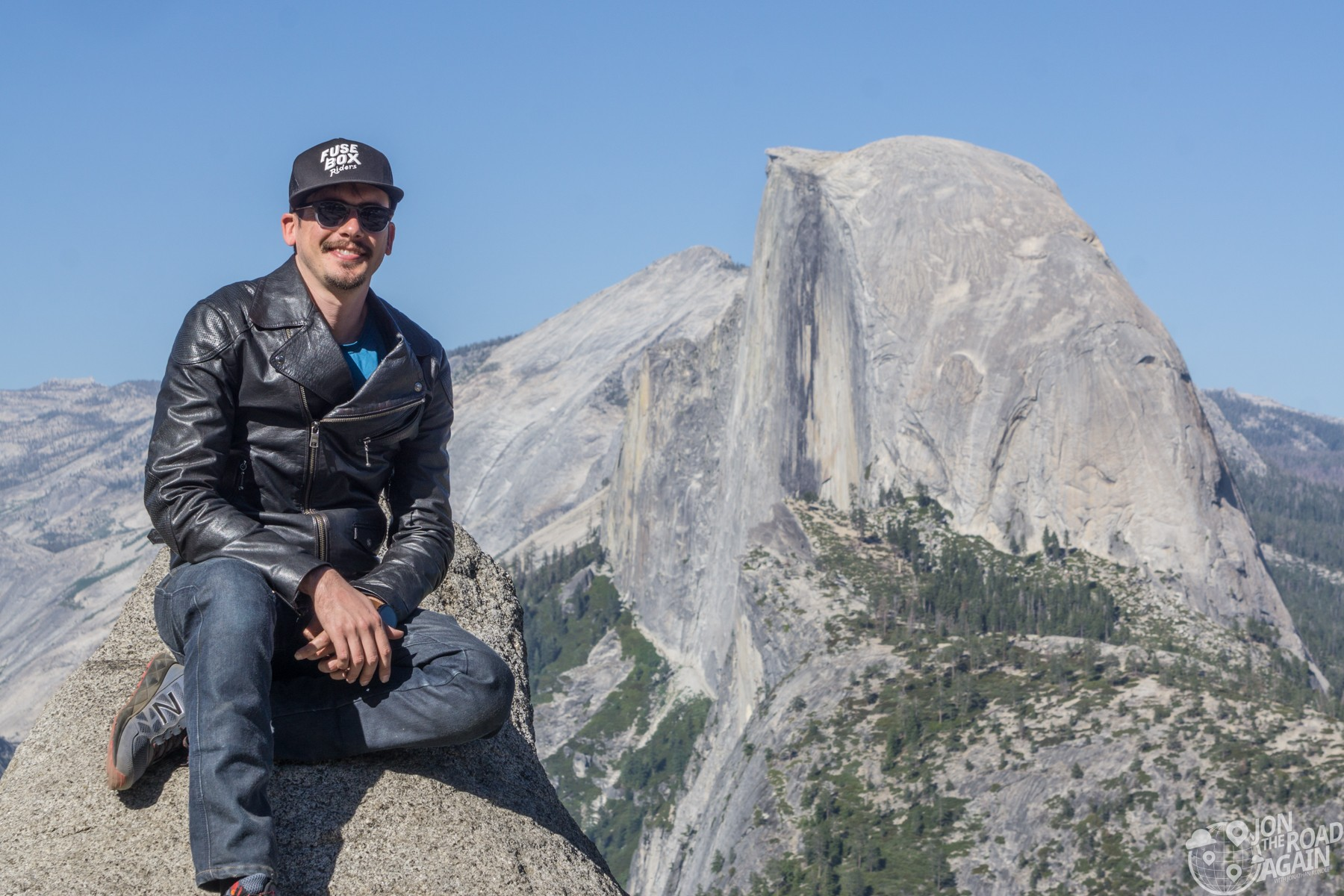 Instagram Poses at Half Dome