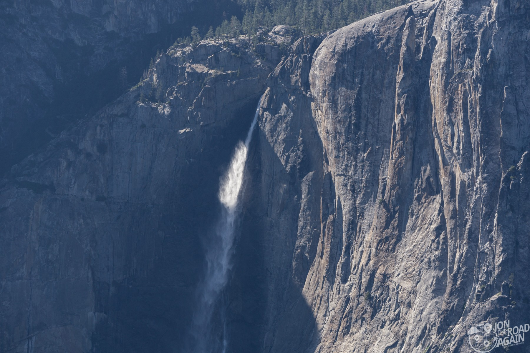 Upper Yosemite Falls from Glacier Point