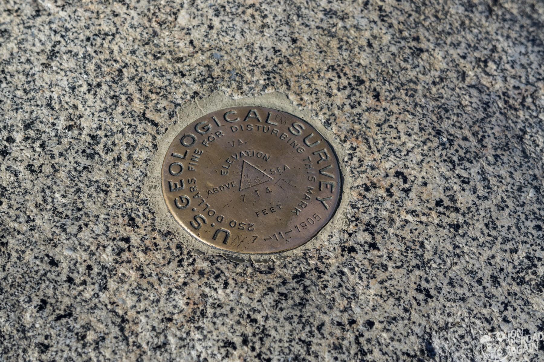 Glacier Point USGS Survey
