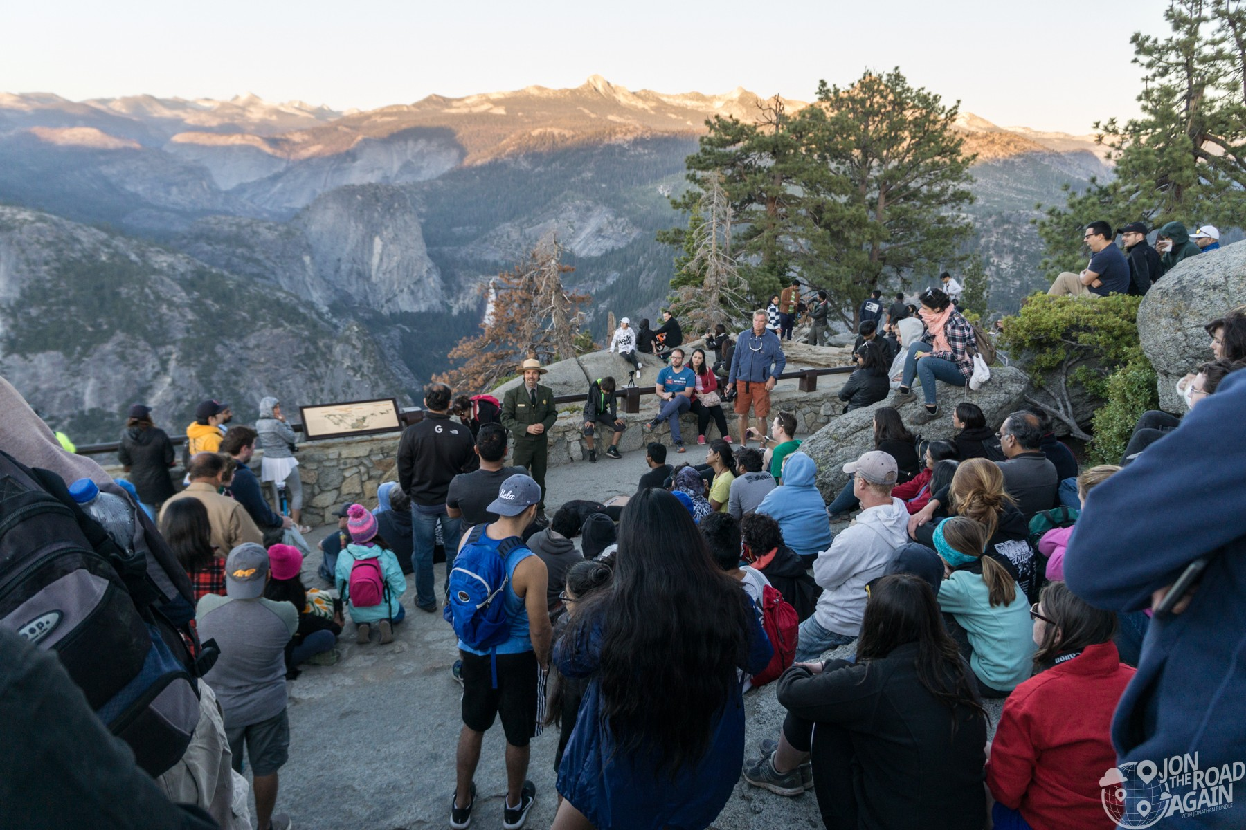 Glacier Point ranger talk