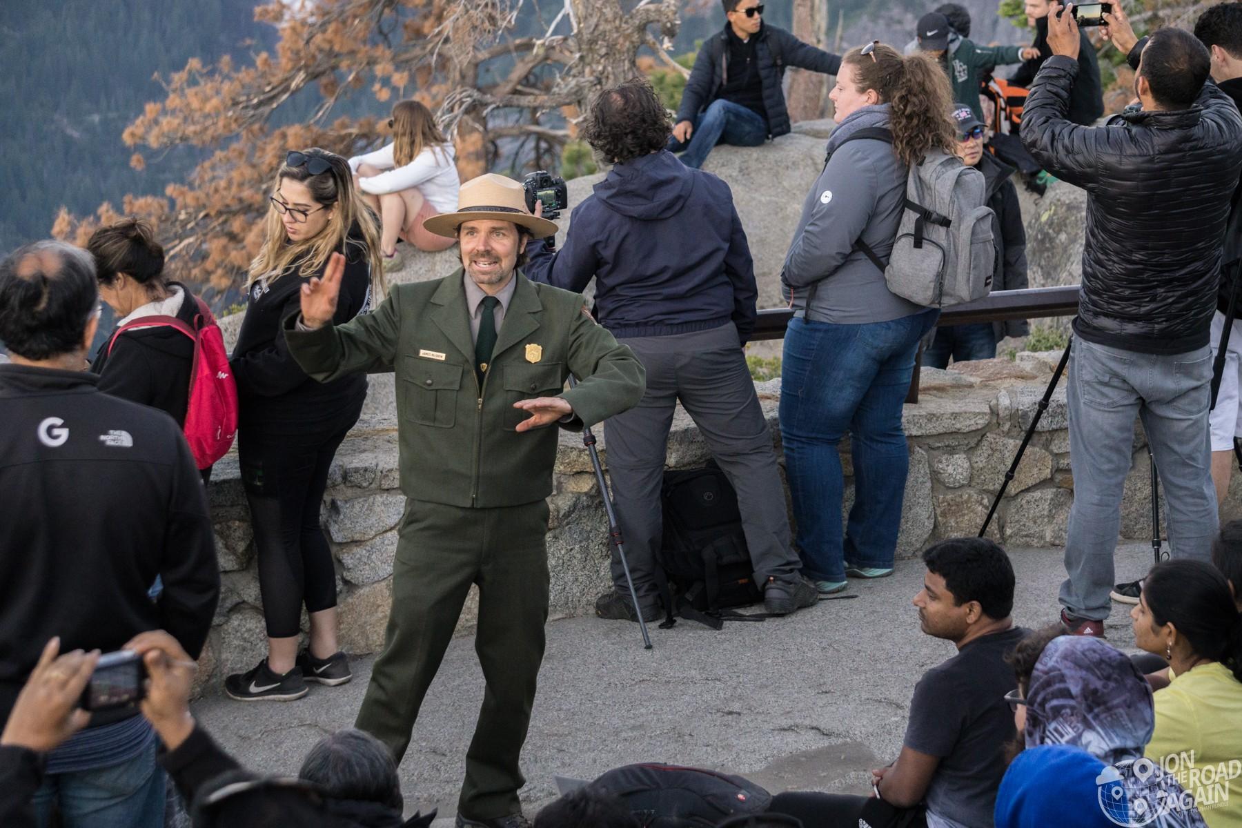 Glacier Point Ranger Talk