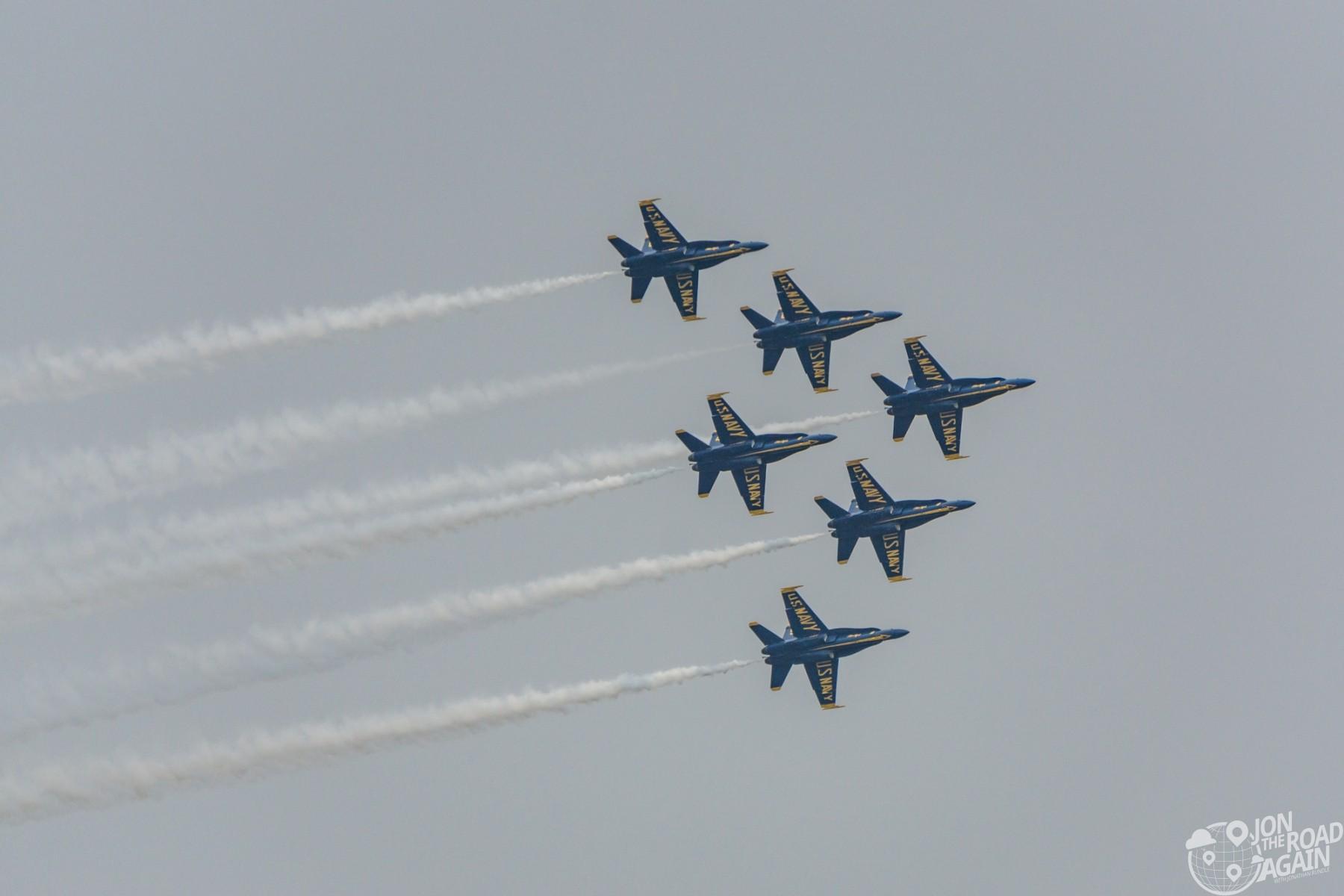 Seafair Blue Angels