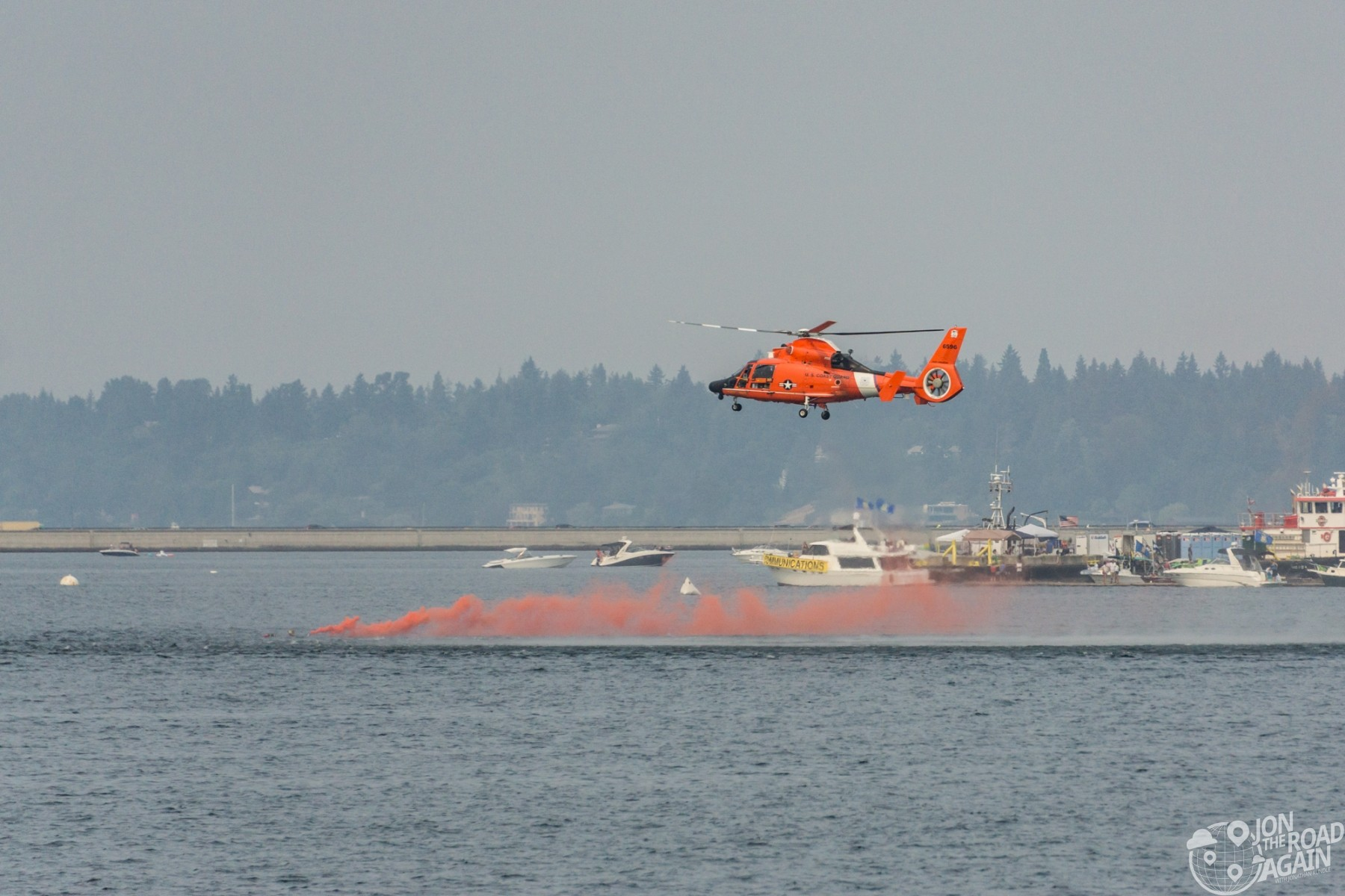 US Coast Guard SAR Demo - MH65 Helicopter