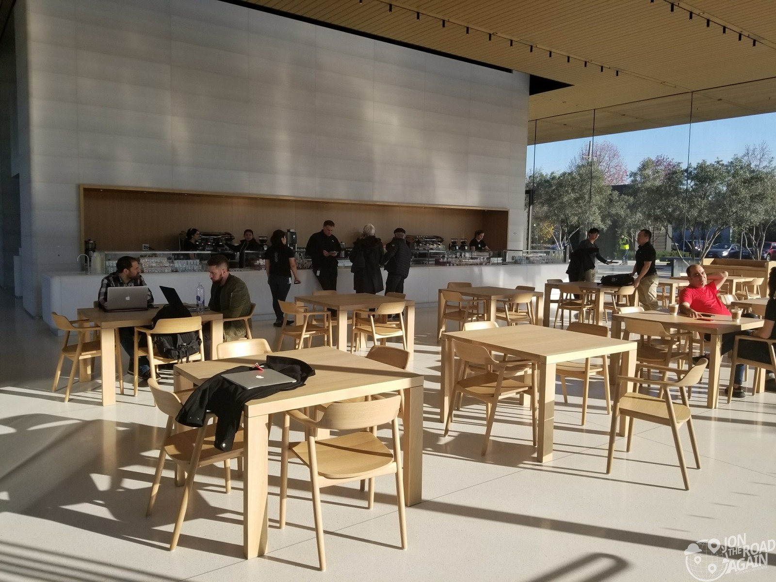 Apple Visitor Center Cafe