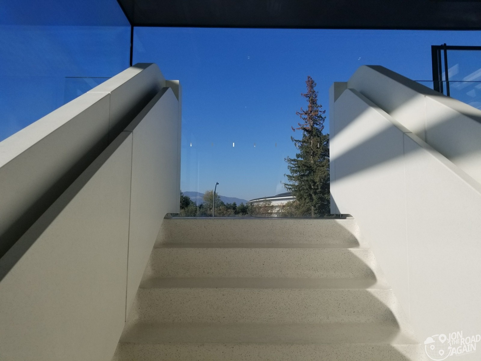 Apple Visitor Center Steps