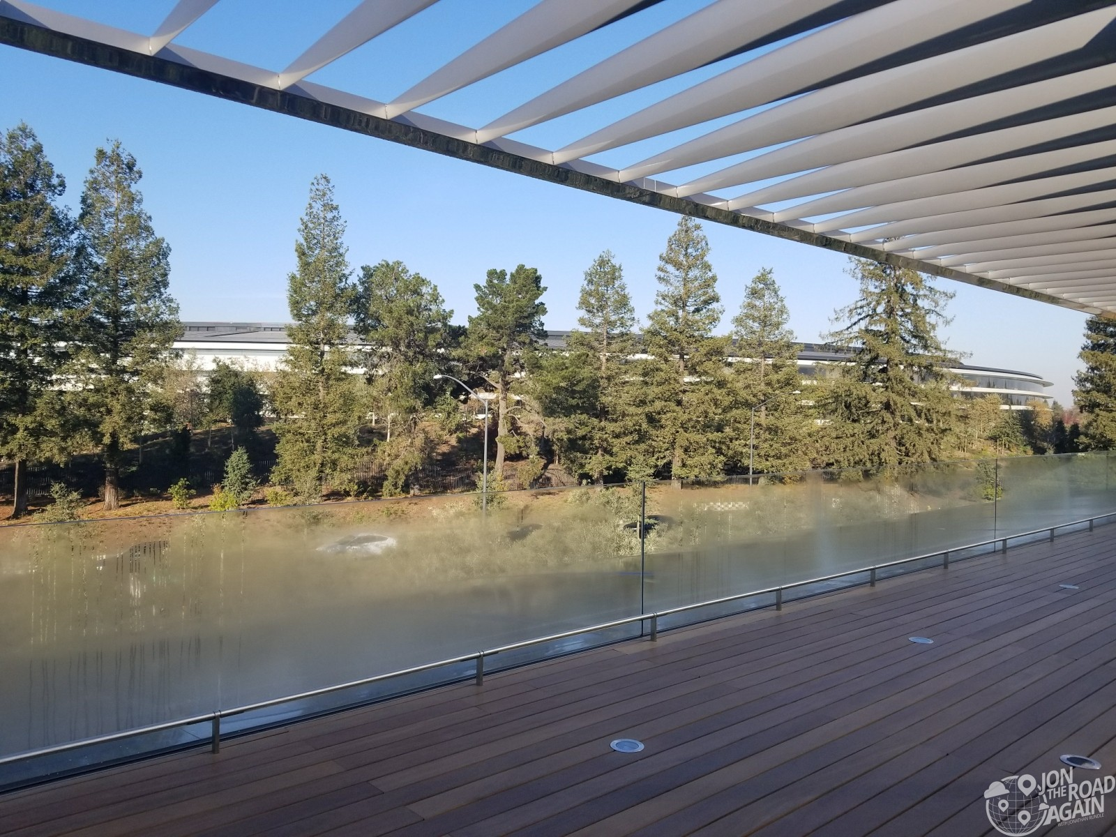 Apple Visitor Center Viewing Deck