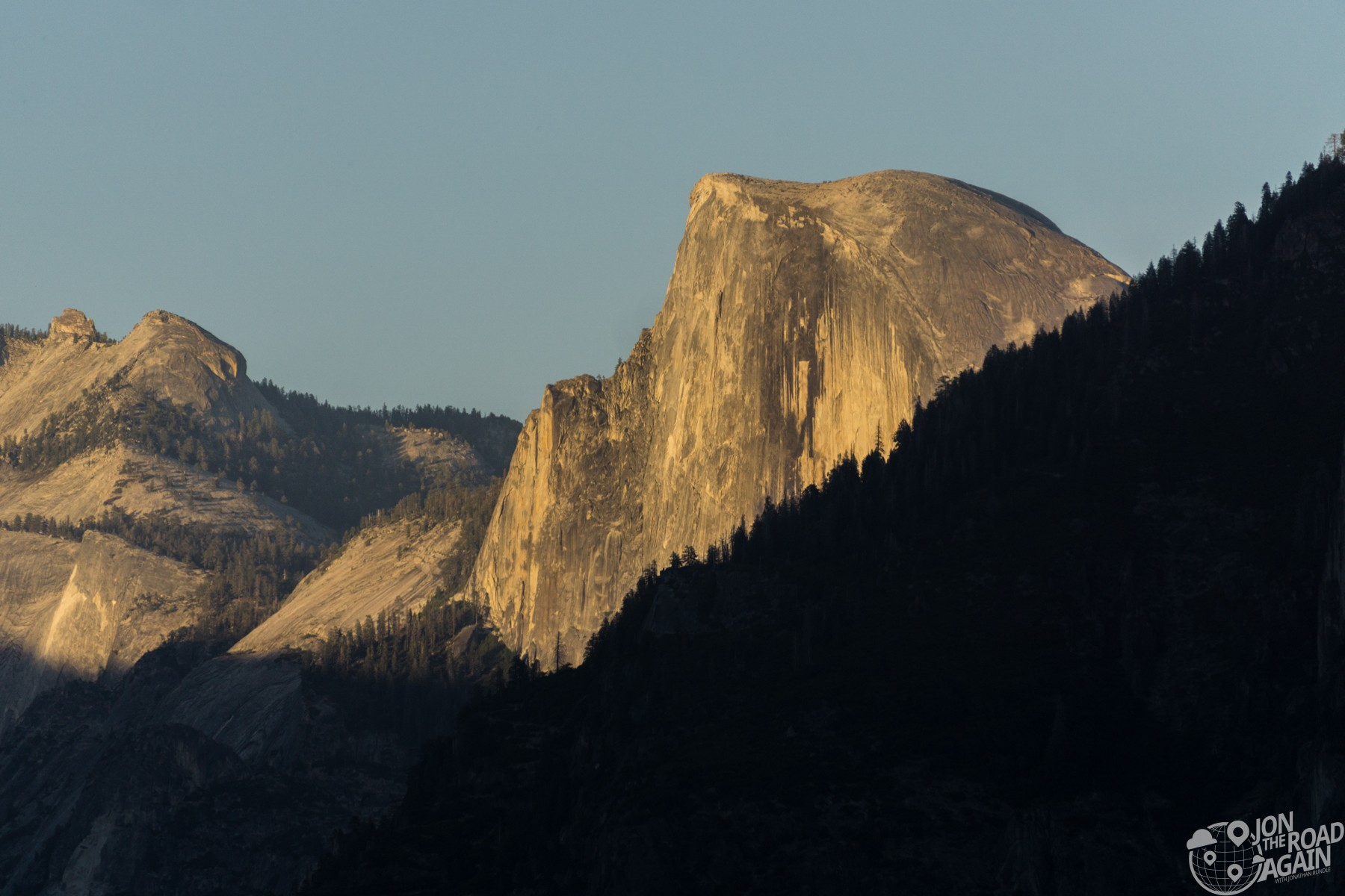 Half Dome from Tunnel View Overlook