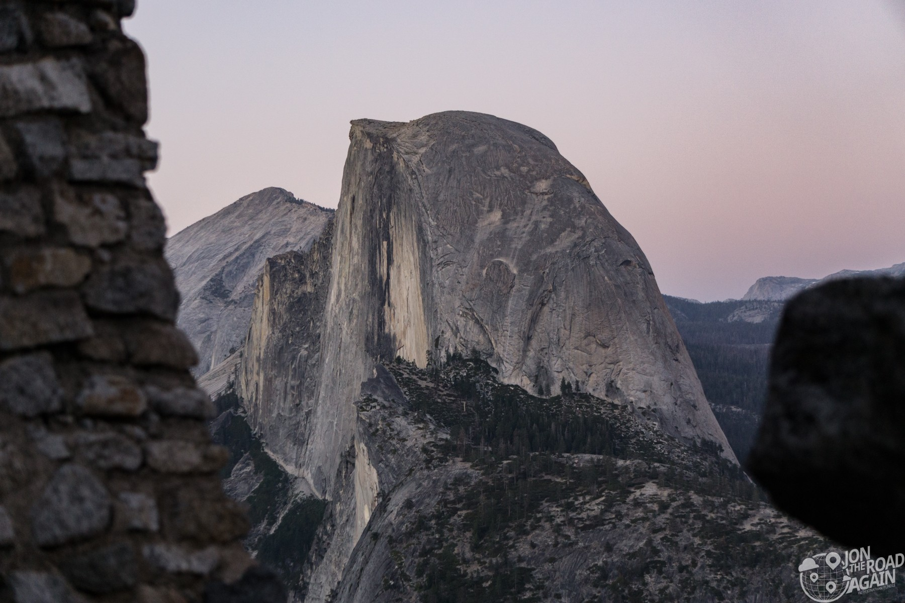 Half dome from Geology Hut
