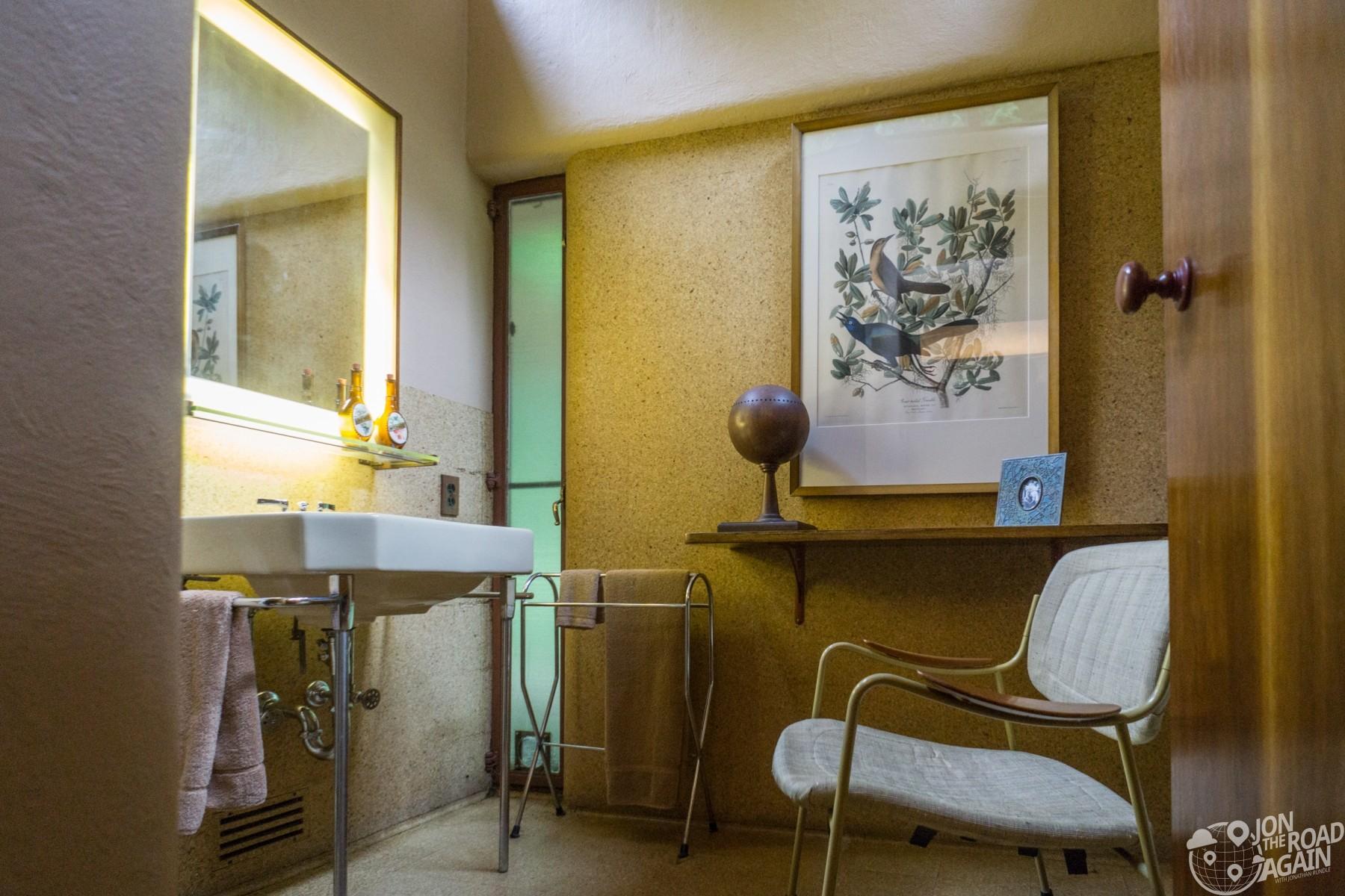 Fallingwater guest bathroom