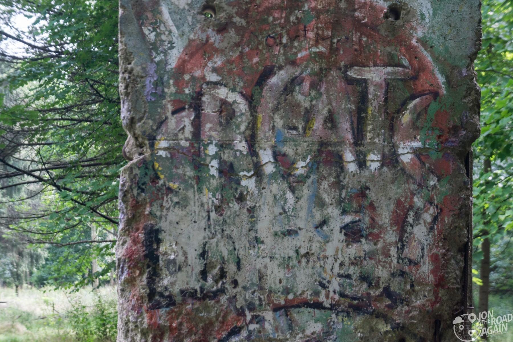 Kentuck Knob Berlin Wall