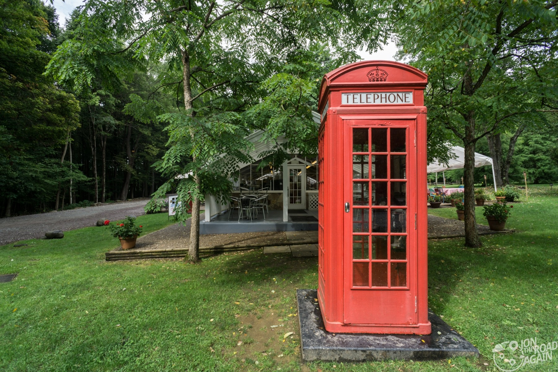 Kentuck Knob Phone Booth